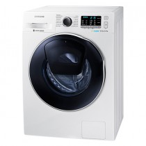 Samsung, Washer Dryer, 8 KG,  Eco Bubble, Add Wash, 1400 RPM, White - WD80K5410OW/FH