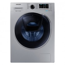Samsung, Washer Dryer, 8 KG,  Eco Bubble, Add Wash, 1400 RPM, Silver - WD18H7300KP/AS