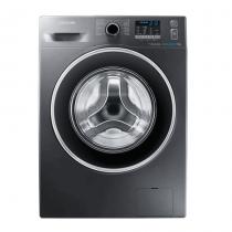 Samsung, ECO BUBBLE WASHING MACHINE, 7 KG, Silver - WF70F5EHW4X/FH