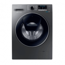 Samsung Front Loading with AddWash, 8 kg-Silver-WW80K5210UX/FH