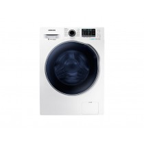 Samsung, Washer Dryer, Eco Bubble, 8 KG, 1400 rpm, White - WD80J5410AW/FH