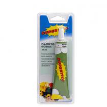 Supertite, Blister Rigid Plastics Glue, 30 Ml, Pack of 6