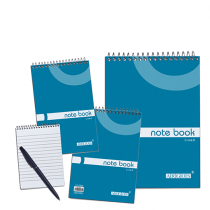 Argos Lb, Note Book Lined, Top Spiral, Pack of 6