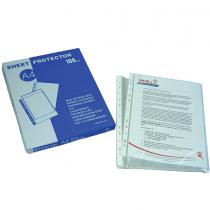 Bindermax, Protector Sheet A4, 40 Mic, Dividers, Pack of 2