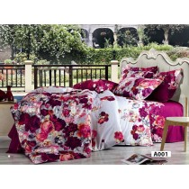 Home Design, Bed Set, 100 percent Cotton, King /Double/Single Floral