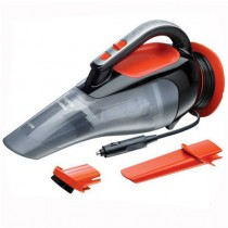 Black and Decker Car Vacuum Cleaner, Crevice Tool and Hard Brush, 12V - ADV1210-XJ