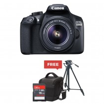 Canon EOS 1300D EF-S 18-55mm 18.7MP CMOS 5184 x 3456 Pixels With FREE Camera Bag, Tripod,16 GB Memory Card