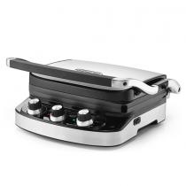 Delonghi Contact grill 1500 W, Chrome - CGH900