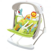 Fisher-Price Rainforest Friends Take Along, Swing & Seat