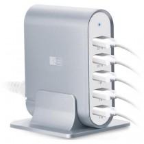Case Logic 7.1A Five-Port USB Charging Station, Black