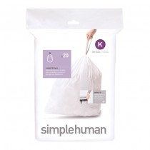 simplehuman Custom Fit Trash Can Liner K, 38L