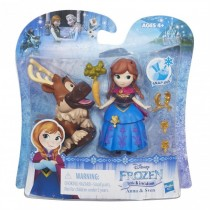 Disney Frozen Little Kingdom Anna and Sven Figure Doll