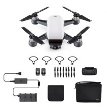 DJI Spark Fly More Combo, 2-Axis, 12MP Still Photos, Alpine White