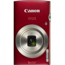 Canon IXUS 185 Ultra Slim Digital Camera 28 mm Wide, 8X Zoom Lens, Red
