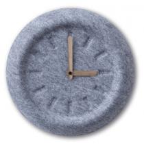 Nuance, Wall Clock, Felt, 29 Cm