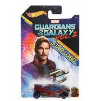 Hotwheels, Marvel Character Car, Guardians Of The Galaxy, Star Lord
