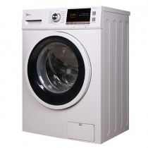 Midea Front Loading Washer 1200 RPM, 7 KG, White - EUA3-FC70-S12D