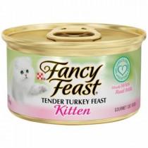 Fancy Feast, Kitten Turkey 3oz, Pack of 3