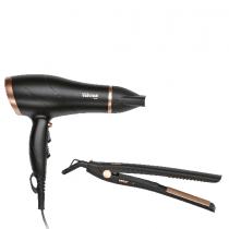 Tristar, Gift set Hair dryer & straightener Hair dryer with Ionic, Straightener 200°C - HD-2366