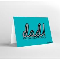 Mukagraf, Dad I Love You Ktir, Greeting Card