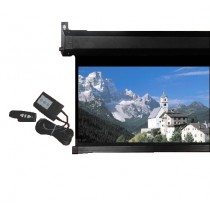 "Conqueror Motorized Projection Screen 113""  -  HPSC22"