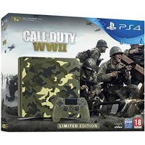 Sony Playstation 4,  Special Edition, 1 TB With 1 Controller and COD WW  II
