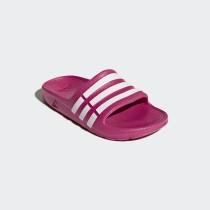 Adidas Girl's Training Duramo Slide Slippers- Pink& White