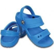 Crocs, Kid's Classic Sandal, Ocean Blue