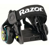 Razor Skating Jetts Heel Wheels Roller Skates- Black/ Green