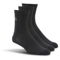 Reebok Unisex Training Mid Crew 3 Pairs Socks