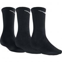 Nike Performance Cushion Crew Training Sock (3 Pair)- Black/ White