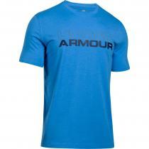 Under Armour Men's Training Cotton Wordmark Stack Tshirt