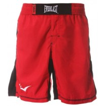 Everlast Men's MMA short, Red/Black