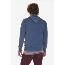 Body Talk, Men's Short Sleeve Weird Hoodie Sweater 419,  Large