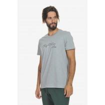 Body Talk, Men's Grey Logo Tshirt