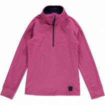O'Neill, Girl's Slope Half Zip Fleece, Phlox Pink