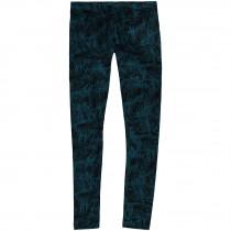 O'Neill, Girl's Legging, Black Aop W/ Blue