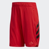 Adidas Men's Basketball Accelerate Short- Red& Black