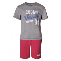 Bodytalk Boys' Lifestyle Varsity Set T-Shirt & Shorts