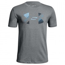 Under Armour Kids' Training Cotton Big Logo T-shirts