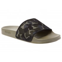 Slydes Men's Lifestyle Carter Slippers- Khaki& Camouflage