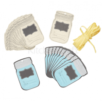 Kitchen Craft, Gift Tag Set, 24 Pieces, Paper