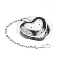 Kitchen Craft, Heart Tea Infuser, Stainless Steel
