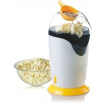 Daewoo Popcorn Machine, Popcorn Maker, Hot Air Popcorn Popper with FDA Approved - Orange - KT387