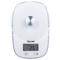 Tristar, Kitchen scale, Plate with safety glass, Maximum capacity 5 kg - KW-2445
