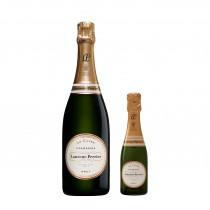 Laurent Perrier, Brut La Cuvee Champagne, 75 cl with FREE La Cuvée Champagne, 20 cl
