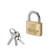 Master Lock, Iron Brass Finish Padlock, 50 MM