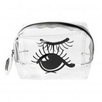 "Miss Etoile, Multi bag S PVC ""open and closed eye"" 11x7,5x7cm"