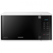 Samsung, MS23K3513AW 23 Liters 800W Freestanding Microwave Oven, White