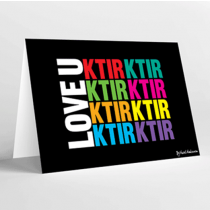 Mukagraf, Love U Ktir Ktir Ktir, Greeting Card